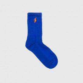 Носки Polar No Comply Socks Royal Blue/Orange