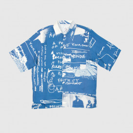 Рубашка Polar Art Shirt - Strongest Notes Blue