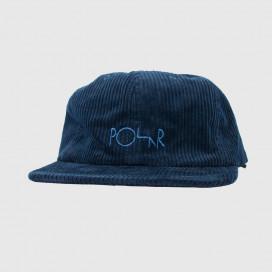 Кепка Polar Corduroy Cap Police Blue