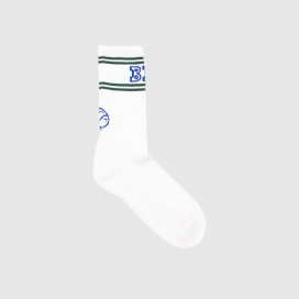 Носки Polar Big Boy Socks White/Green/Blue