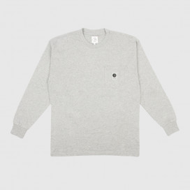 Лонгслив Polar Pocket Longsleeve Heather Grey
