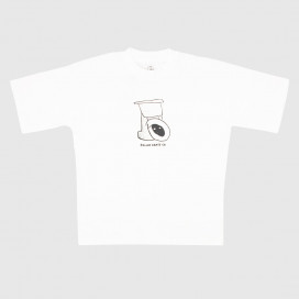 Футболка Polar Toilet Surf Tee White