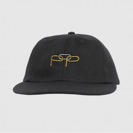 Кепка Pop Trading Company Missing Link 6 Panel Hat Black