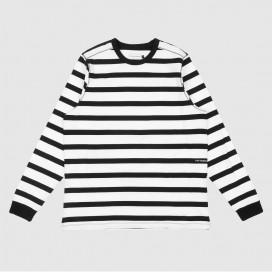 Лонгслив Pop Trading Company Miffy Striped Longsleeve T-Shirt Black/White
