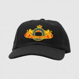 Кепка Pop Trading Company Royal o 6 Panel Hat Black