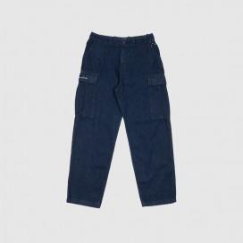 Штаны Pop Trading Company Cargo Denim Pants Rinsed Denim