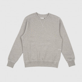 Толстовка  Pop Trading Company Logo Crewneck Sweat Heather Grey