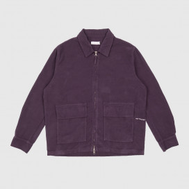 Куртка Pop Trading Company Fullzip Jacket dark purple