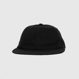 Кепка Pop Trading Company O 6 panel hat Black