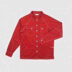 Рубашка Pop Trading Company Herman Shirt Pepper Red