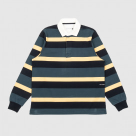 Поло Pop Trading Company Striped Rugby Polo Multicolor