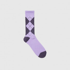 Носки Pop Trading Company Burly Violet/Dark Purple