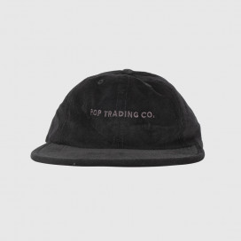 Кепка Pop Trading Company Flexfoam 6 Panel Hat Black Minicord