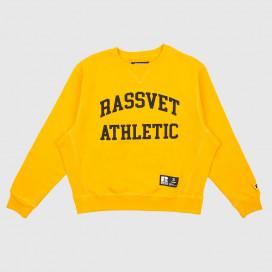 Толстовка РАССВЕТ Mens Printed Sweatshirt Woven Mostard