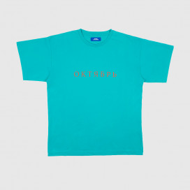 Футболка РАССВЕТ Mens Oktyabr Light Blue