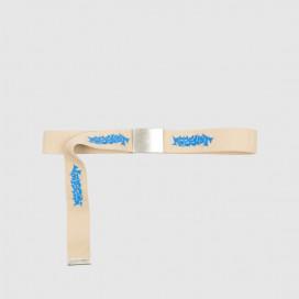 Ремень РАССВЕТ Men's Printed Webbing Belt Beige