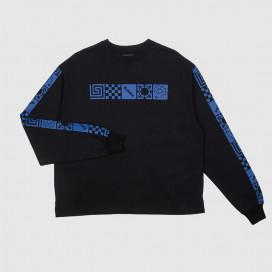 Лонгслив РАССВЕТ Men's Longsleeve T-shirt Black