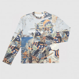 Лонгслив РАССВЕТ Men's T-Shirt Allover Beige