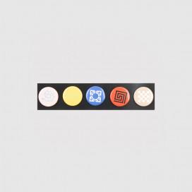 Другое РАССВЕТ Set Of Badges Multi