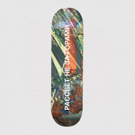 Доска РАССВЕТ Skateboard Print1 Allover