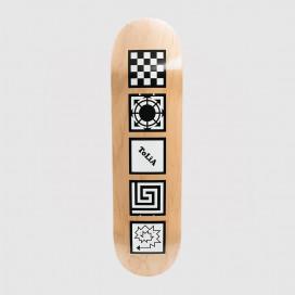 Дека РАССВЕТ Skateboard White