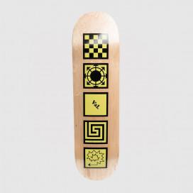 Дека РАССВЕТ Skateboard Yellow