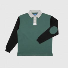 Лонгслив РАССВЕТ Men's L/S Polo Shirt Green