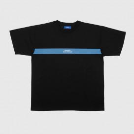 Футболка РАССВЕТ Men's Logo Stripe T-Shirt Black