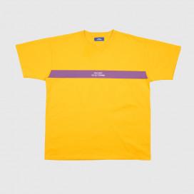 Футболка РАССВЕТ Men's Logo Stripe T-Shirt Yellow