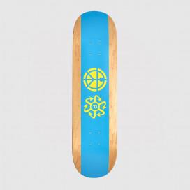 Дека РАССВЕТ Rassvet Skateboard Blue