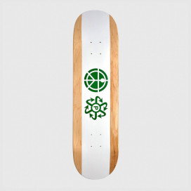 Дека РАССВЕТ Rassvet Skateboard White