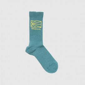 Носки РАССВЕТ Men's Cotton Socks Knit Turquoise