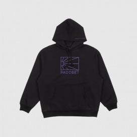 Толстовка с капюшоном РАССВЕТ Men's Cotton Logo Hoodie Knit Black