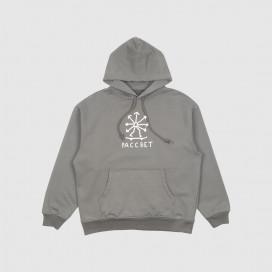 Толстовка с капюшоном РАССВЕТ Men's Cotton Skate Hoodie Knit Grey