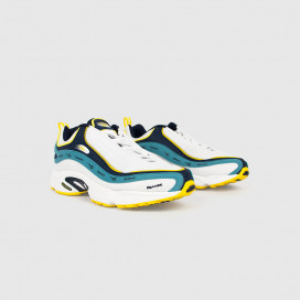 Кроссовки Reebok Daytona DMX Vector White/Navy/Mist/Yellow