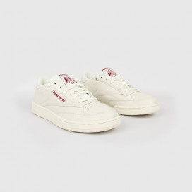 Кроссовки Reebok Club C 85 Mu DV3895 Chalk/Meteor Red