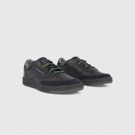 Кроссовки Reebok CLUB C85 MU Black/True Grey/Neon Lime