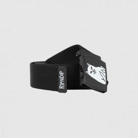 Ремень RIPNDIP Lord Nermal Web Belt Black