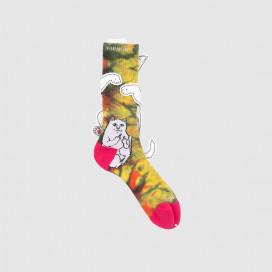 Носки RIPNDIP Lord Nermal Sunburt Socks Multi
