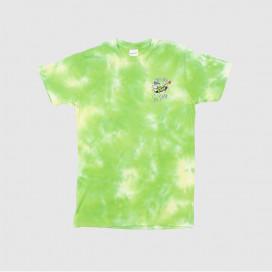 Футболка RIPNDIP Astronomic Tee Green Lightning Wash