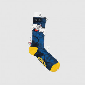 Носки RIPNDIP Nermby Socks Blue Lightning