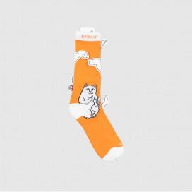 Носки RIPNDIP Lord Nermal Socks Orange