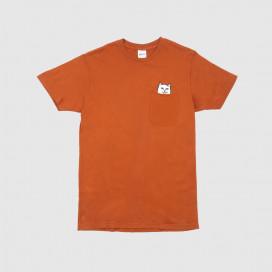 Футболка RIPNDIP Lord Nermal Pocket Tee Cotta Orange