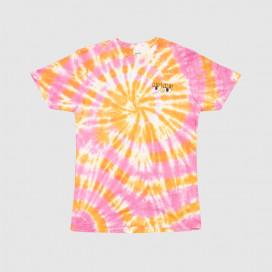 Футболка RIPNDIP Butter Face Tee Pink & Orange Tie Dye