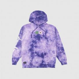 Толстовка с капюшоном RIPNDIP Home Grown Hoodie Lilac Lightning Wash