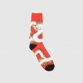 Носки RIPNDIP Dragonerm Socks Red