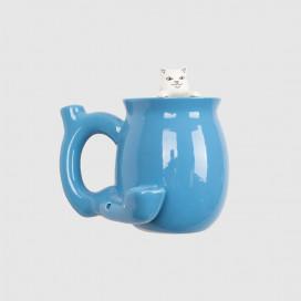 Чашка RIPNDIP Got Greens Ceramic Coffee Mug Pipe Blue