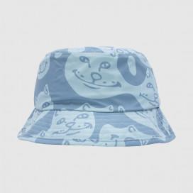 Панамка RIPNDIP Many Faces Cotton Twill Bucket Hat Slate