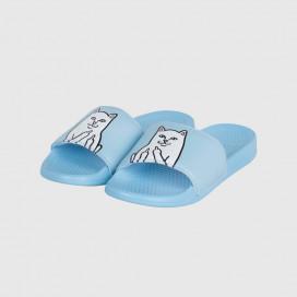 Шлепанцы RIPNDIP Lord Nermal Slides Baby Blue