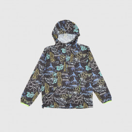 Куртка RIPNDIP Goalasso Packable Fanorak Jacket Black
